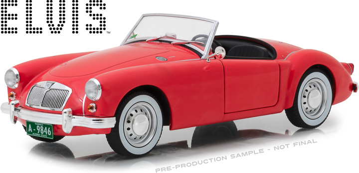13524 - 1:18 Elvis Presley (1935-77) - 1959 MG A 1600 Roadster MkI