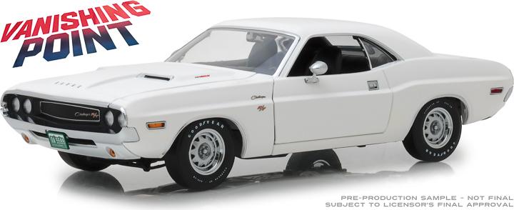 13526 - 1:18 Vanishing Point (1971) - 1970 Dodge Challenger R/T