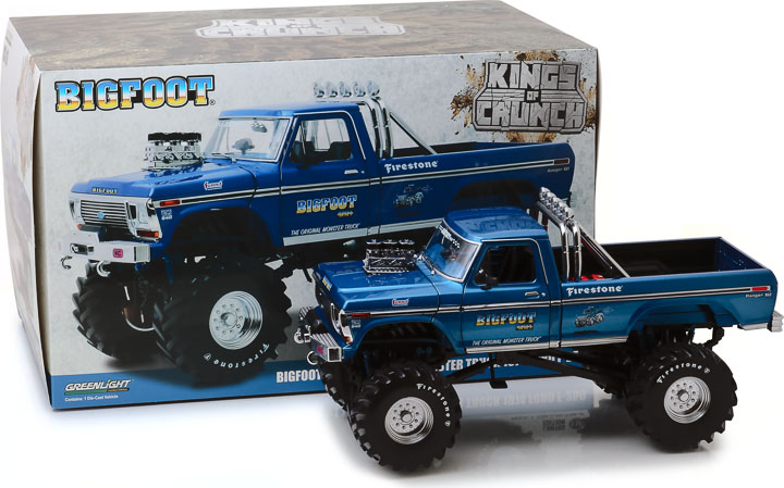 13537 - 1:18 Kings of Crunch - Bigfoot #1 - 1974 Ford F-250 Monster Truck with 48-Inch Tires