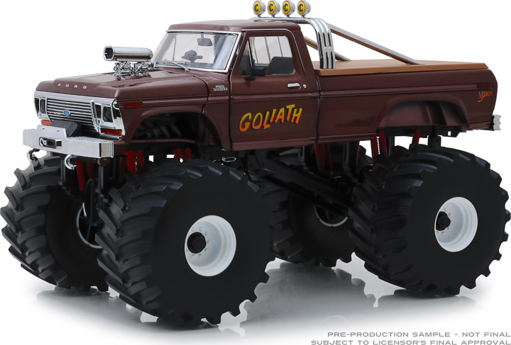 13540 - 1:18 Kings of Crunch - Goliath - 1979 Ford F-250 Monster Truck with 66-Inch Tires
