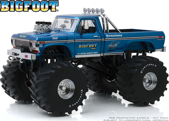 13541 - 1:18 Kings of Crunch - Bigfoot #1 - 1974 Ford F-250 Monster Truck with 66-Inch Tires