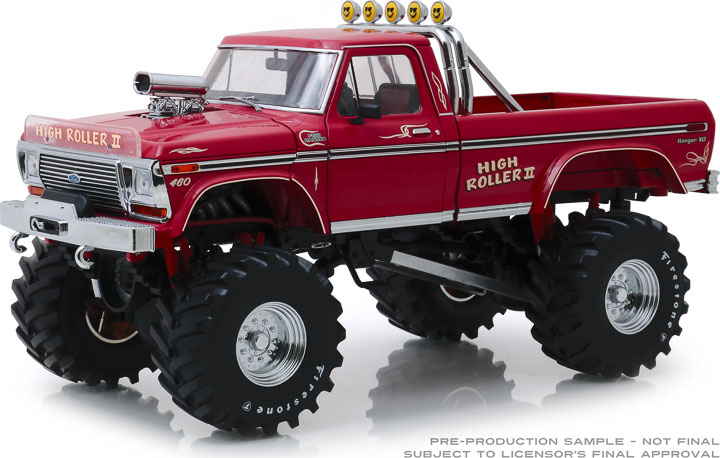 13542 - 1:18 Kings of Crunch - High Roller II - 1979 Ford F-250 Monster Truck with 48-Inch Tires