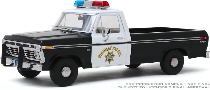 13550 - 1:18 1975 Ford F-100 - California Highway Patrol