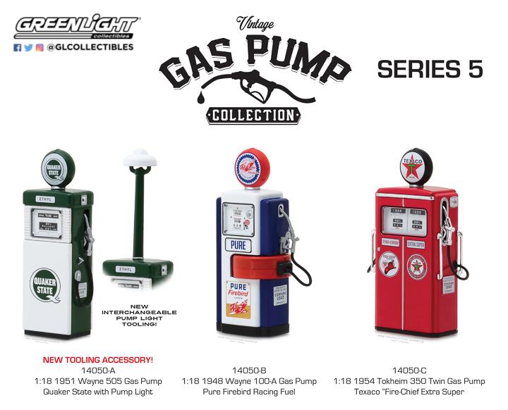 Vintage Gas Pumps :: GreenLight Collectibles