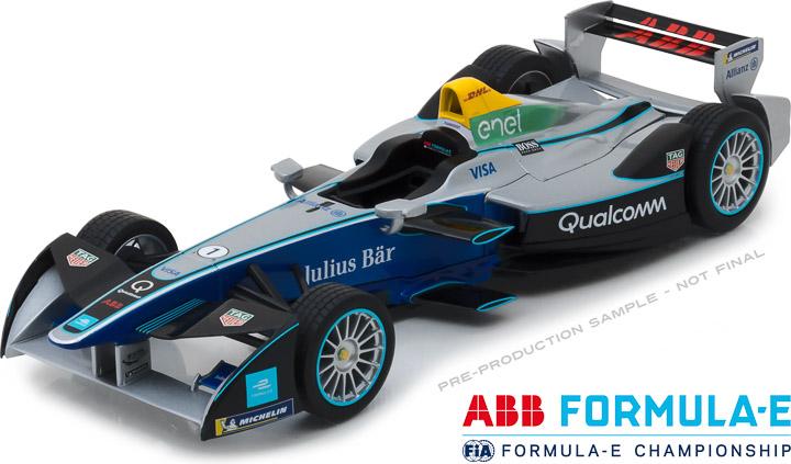 18110 - 1:18 2018 FIA Formula E Spark-Renault SRT_01E Show Car
