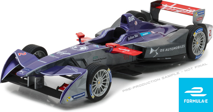 18112 - 1:18 2018 FIA Formula E #2 Sam Bird / DS Virgin Racing