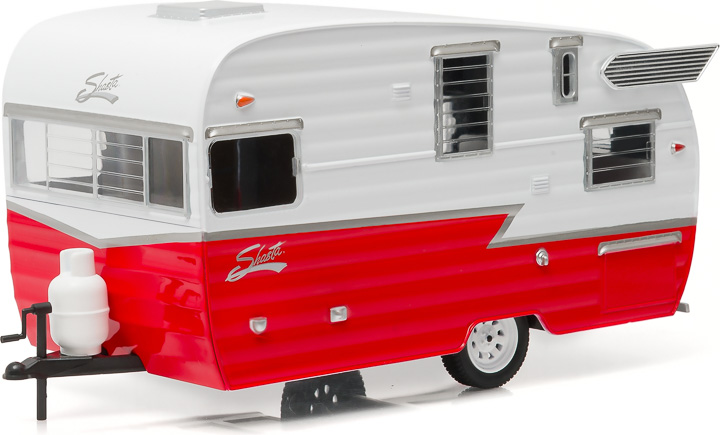18225 - 1:24 Shasta 15' Airflyte - White and Red