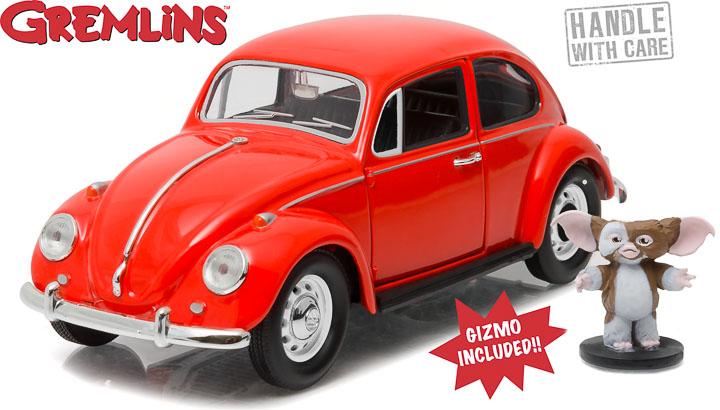 1:24 Gremlins (1984) - 1967 Volkswagen Beetle with Gizmo Figure Preorder October 2016