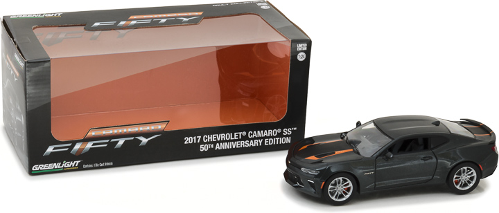 18234 - 1:24 2017 Chevy Camaro SS 50th Anniversary Edition