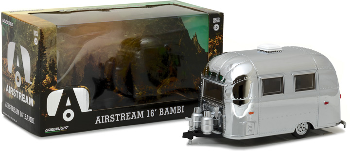 18236 - 1:24 Airstream 16' Bambi Sport - Chrome