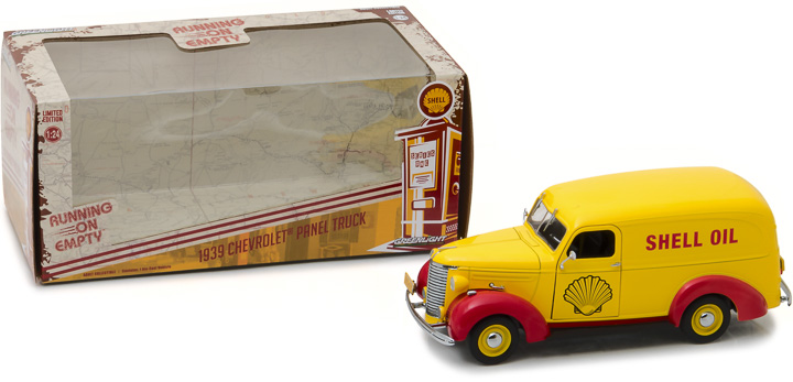 18237 - 1:24 Running on Empty - 1939 Chevrolet Panel Truck - Shell Oil