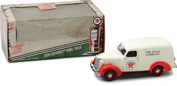 18238 - 1:24 Running on Empty - 1939 Chevrolet Panel Truck - Texaco