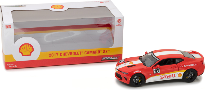 18239 - 1:24 2017 Chevy Camaro SS Shell Oil