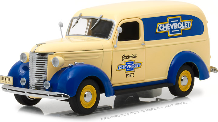 18242 - 1:24 Running on Empty - 1939 Chevrolet Panel Truck Genuine Chevrolet Parts