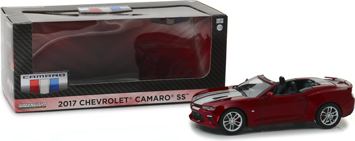 18245 - 1:24 2017 Chevy Camaro Convertible - Garnet Red Tintcoat