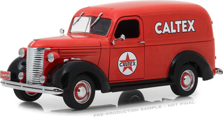 18246 - 1:24 Running on Empty - 1939 Chevrolet Panel Truck - Caltex