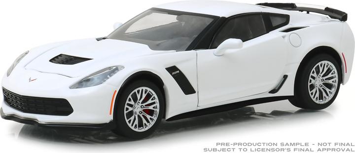 18250 - 1:24 2019 Chevrolet Corvette Z06 Coupe - Arctic White