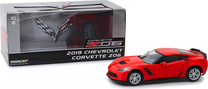 18251 - 1:24 2019 Chevrolet Corvette Z06 Coupe - Torch Red
