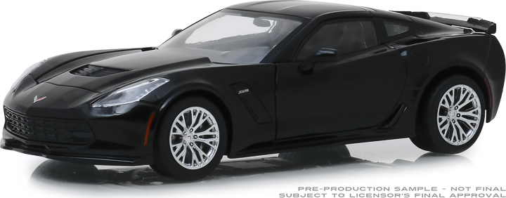18255 - 1:24 2019 Chevrolet Corvette Z06 Coupe - Black