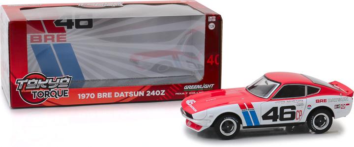 18301 - 1:24 Tokyo Torque - 1970 Datsun 240Z BRE #46 (Brock Racing Enterprises)