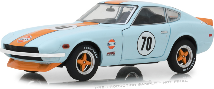 18302 - 1:24 Tokyo Torque - 1970 Datsun 240Z Gulf Oil