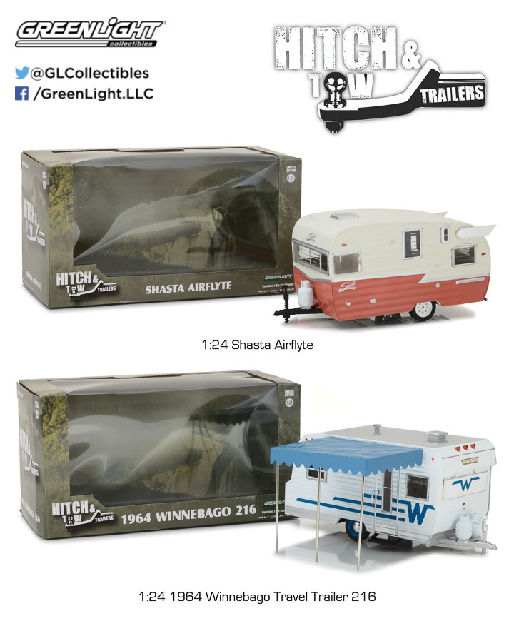 1:24 Hitch & Tow Trailers