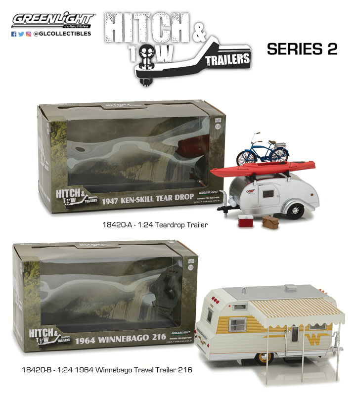 18420 - 1:24 Hitch & Tow Trailers Series 2