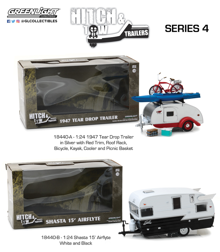 18440 - 1:24 Hitch & Tow Trailers Series 4
