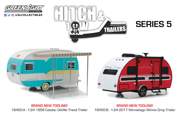 18450 - 1:24 Hitch & Tow Trailers Series 5