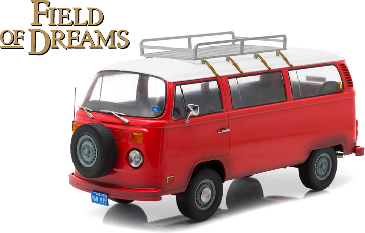 1:18 Artisan Collection - Field of Dreams (1989) - 1973 Volkswagen Type 2 (T2B) Bus