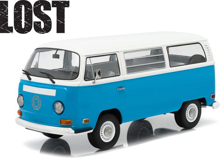 1:18 LOST Volkwagen Samba Bus