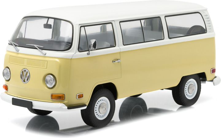 1:18 Artisan Collection - 1971 Volkswagen Type 2 (T2B) Bus - Kansas Beige and Pastel White