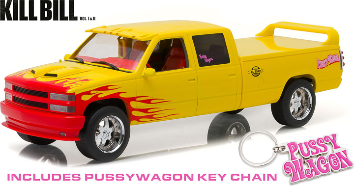 "1:18 Artisan Collection - Kill Bill: Vol. 1 (2003) - 1997 Chevrolet C-2500 Crew Cab Silverado ""Pussy"