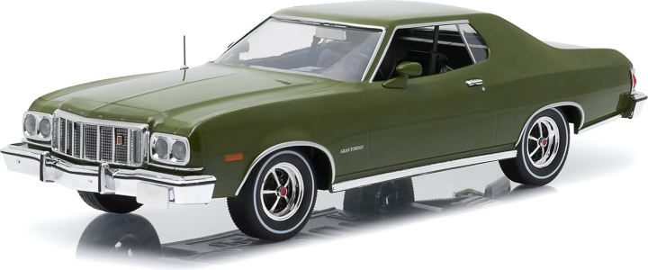1:18 Artisan Collection - 1976 Ford Gran Torino - Dark Green Metallic