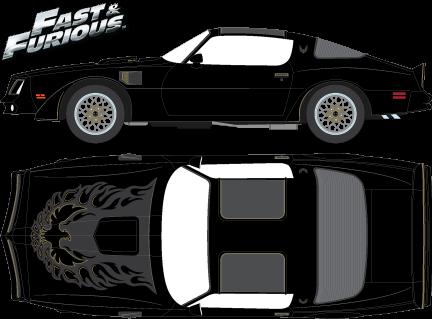 19026 - 1:18 Artisan Collection - 1978 Pontiac Firebird Trans Am