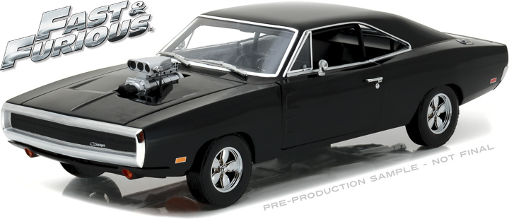 1:18 Artisan Collection - Fast and Furious - The Fast and the Furious (2001) - 1970 Dodge Charger