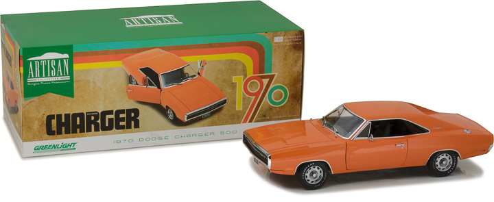19028 - 1:18 Artisan Collection - 1970 Dodge Charger