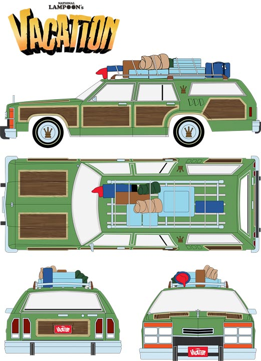 19031 - 1:18 Artisan Collection - 1979 Family Truckster