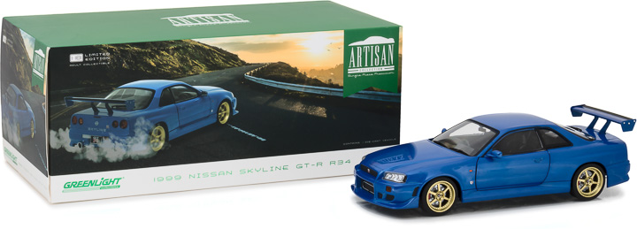 19032 - 1:18 Artisan Collection - 1999 Nissan Skyline GT-R (R34)