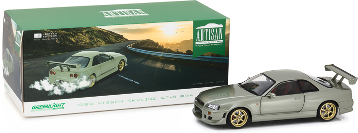 19033 - 1:18 Artisan Collection - 1999 Nissan Skyline GT-R (R34)