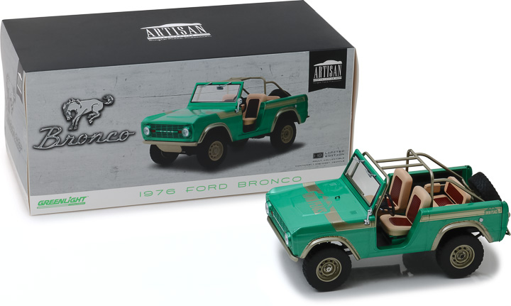 19034 - 1:18 Artisan Collection - 1976 Ford Bronco Twin Peaks