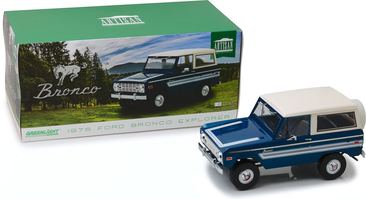 19035 - 1:18 Artisan Collection - 1976 Ford Bronco Explorer Package