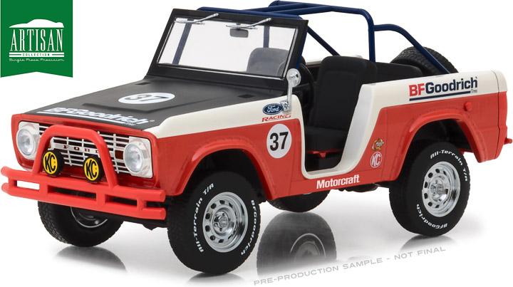 19037 - 1:18 Artisan Collection - 1966 Ford Baja Bronco #37 BFGoodrich