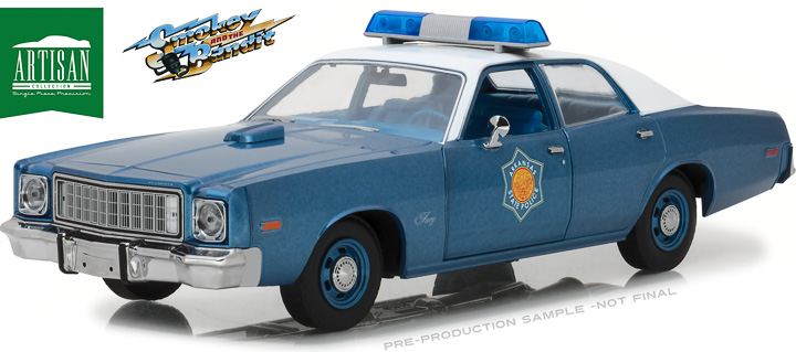 19044 - 1:18 Artisan Collection - Smokey and the Bandit (1977) - 1975 Plymouth Fury Arkansas State Police