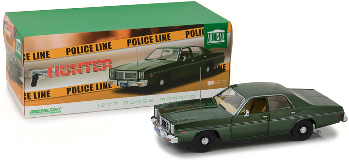 19045 - 1:18 Artisan Collection - Hunter (1984-91 TV Series) - 1977 Dodge Monaco