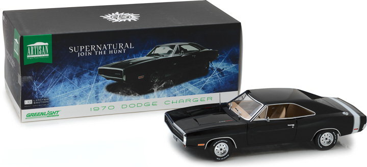 19046 - 1:18 Artisan Collection - Supernatural (2005-Current TV Series) - 1970 Dodge Charger