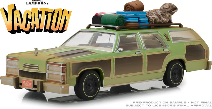 19048 - 1:18 Artisan Collection - National Lampoon's Vacation (1983) - 1979 Family Truckster