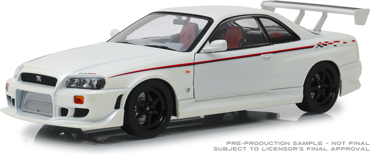 19049 - 1:18 Artisan Collection - 1999 Nissan Skyline GT-R (R34) - Pearl White