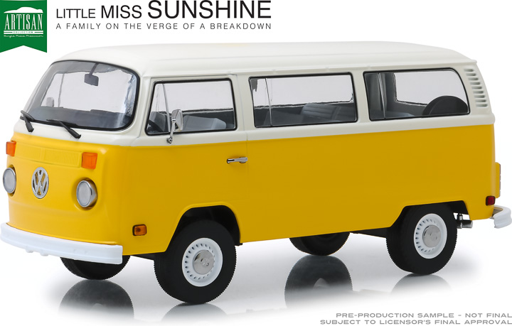 19051 - 1:18 Artisan Collection - Little Miss Sunshine (2006) - 1978 Volkswagen Type 2 (T2B) Bus