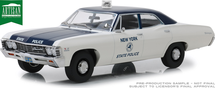 19054 - 1:18 Artisan Collection - 1967 Chevrolet Biscayne - New York State Police
